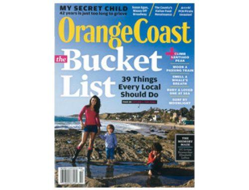 Orange Coast Magazine, Article