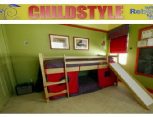 HGTV's ChildStyle Features Playful Boy's Room