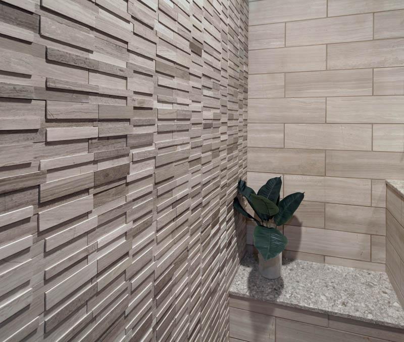 Ladera Ranch Contemporary Bathroom marble mosaic