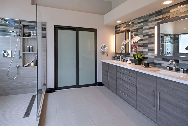 San Clemente Contemporary Master Bath