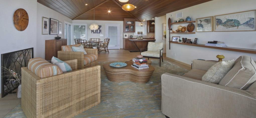San Clemente library interior design