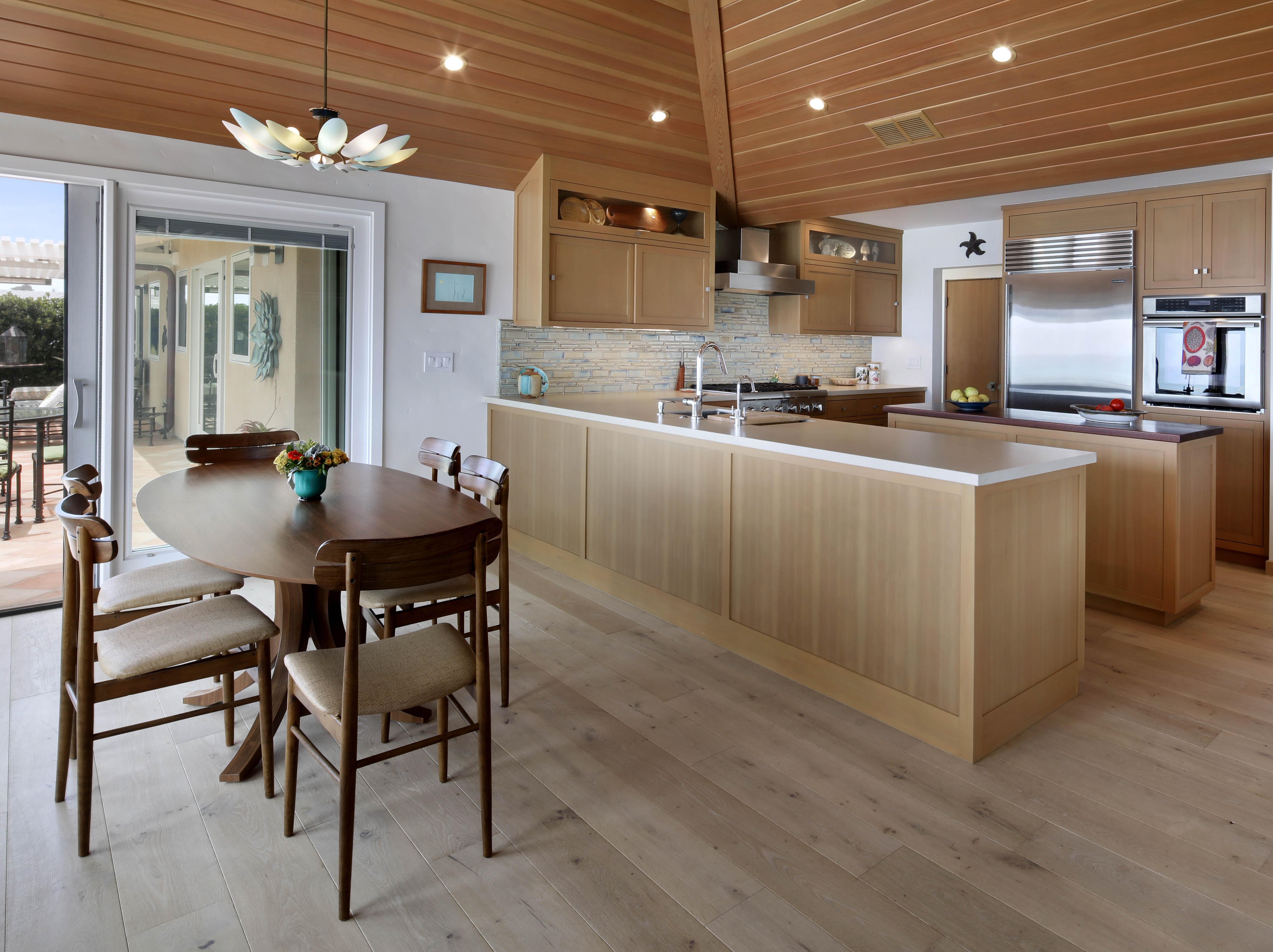 Orange County San Clemente Interior Design Kitchen & Dining