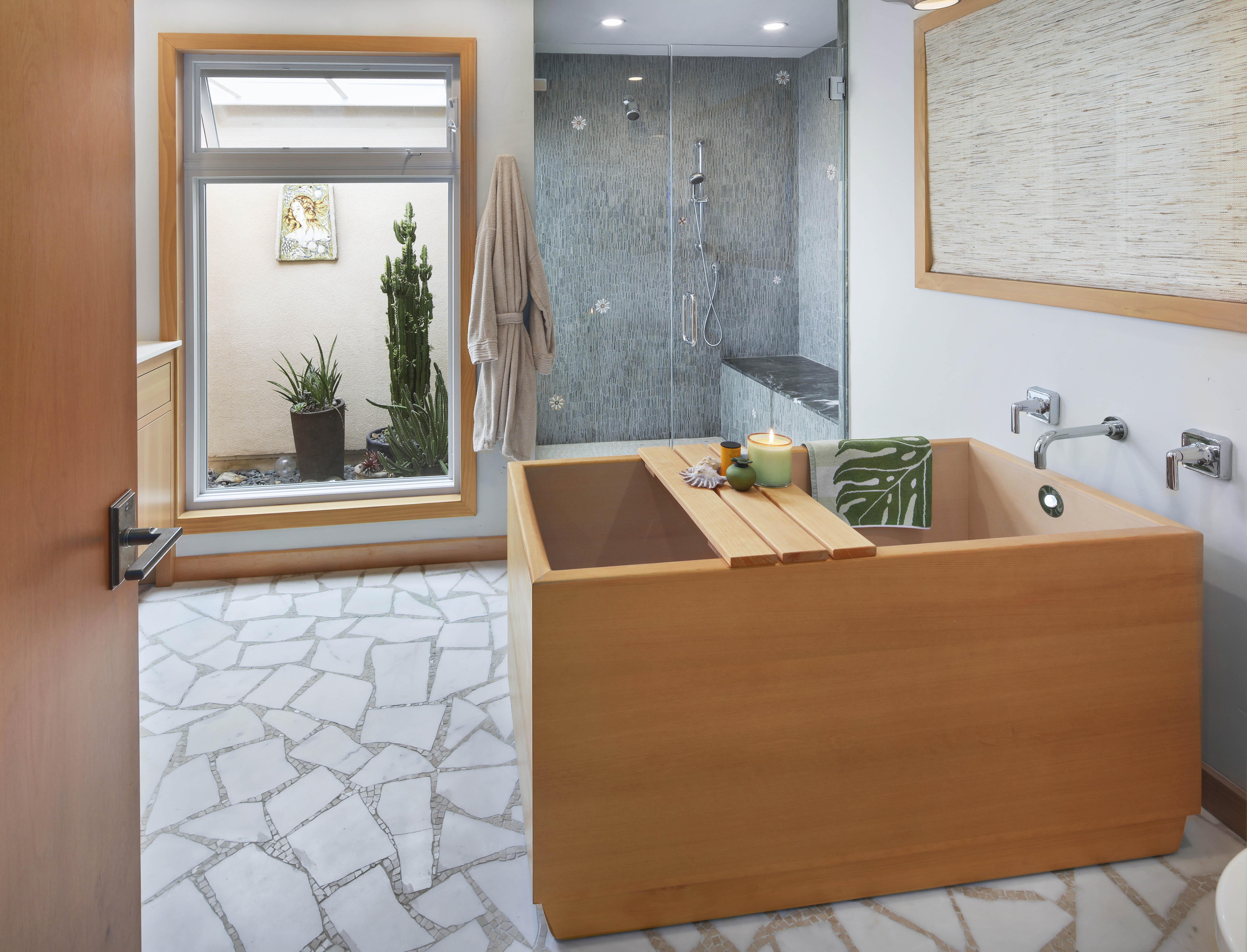 Orange County San Clemente Interior Design Master Bath 2