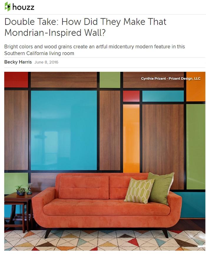 Houzz Mid Century Modern.Houzz Prizant Design S Mid Century Living Room Prizant Design