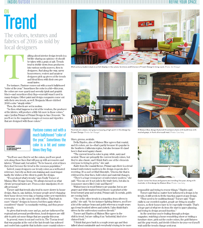 Prizant Design SC Times On Trend