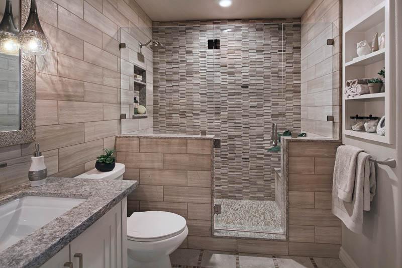 Ladera Ranch Contemporary Bathroom Shower