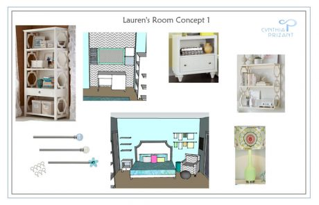 San Clemente Teen Girl Bedroom