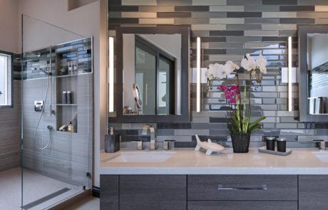 San Clemente contemporary master bath