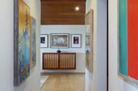 Orange County San Clemente Interior Design Art Gallery
