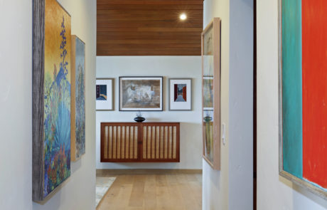 Orange County San Clemente Interior Design Art Gallery