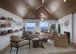 Orange County San Clemente Interior Design Sitting Room