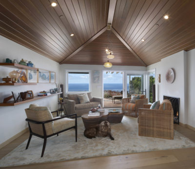 Orange County San Clemente Interior Design Sitting Room