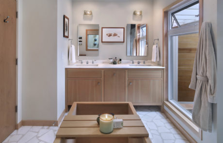 Orange County San Clemente Interior Design Master Bath