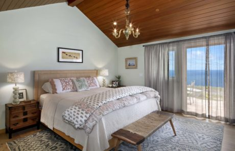 Orange County San Clemente Interior Design Master Bedroom