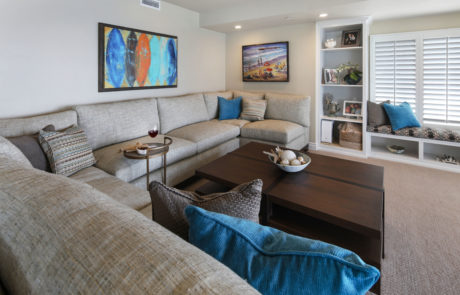 San Clemente Beachhouse Family Room 2