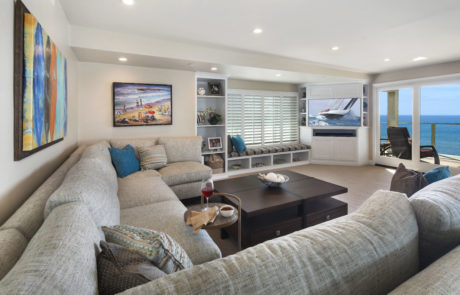San Clemente Beachhouse Family Room 3