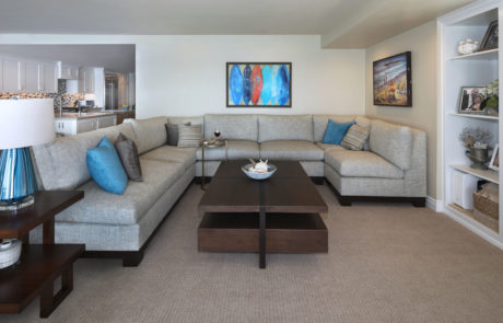 San Clemente Beachhouse Family Room