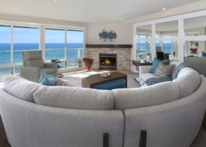 San Clemente Beachhouse Living Room
