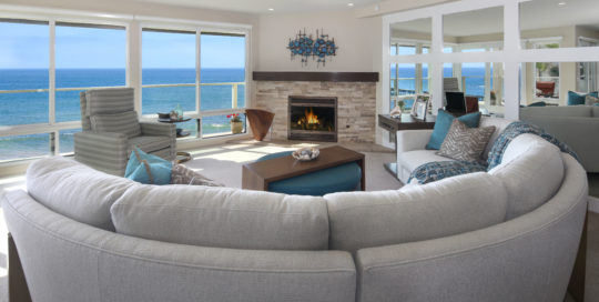 San Clemente Beachhouse Living Room