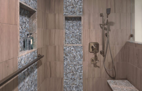 San Clemente Beachhouse Master Shower