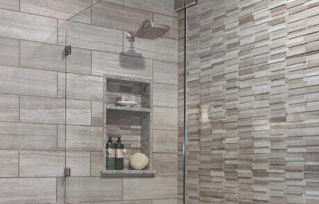 Shower detail Ladera Ranch