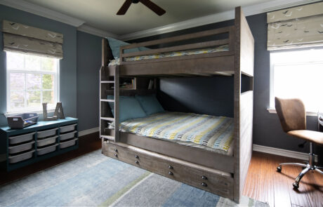 Boys bedroom bunks