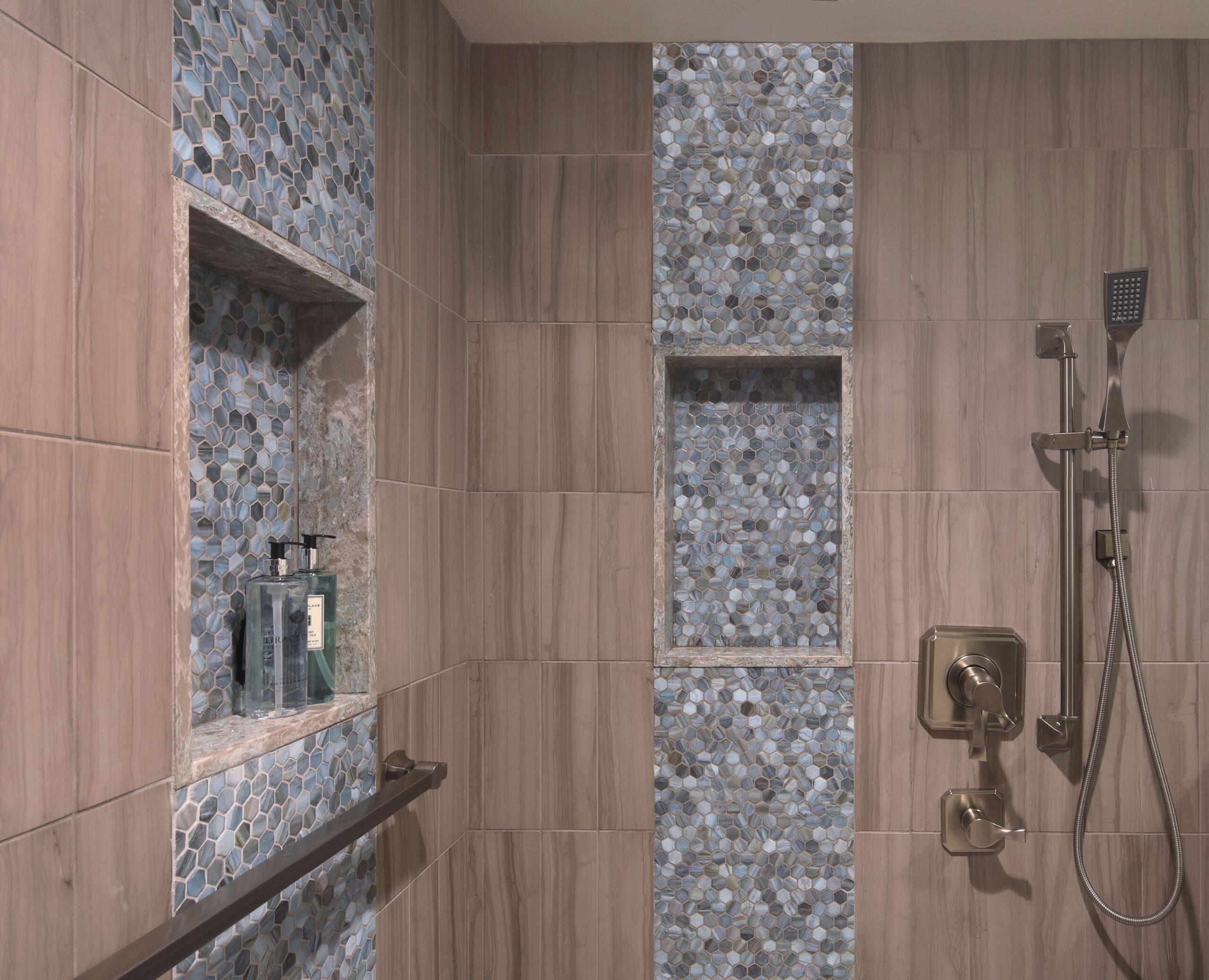 San Clemente Beach House Master Shower